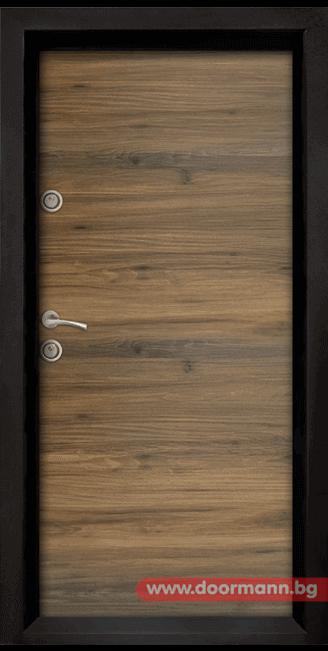 Блиндирана врата Ale Door 404, цвят Napoli от Дорман