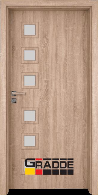 Интериорна врата Gradde Reichsburg - Дъб Вераде