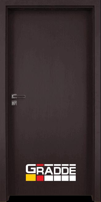 Интериорна врата Gradde Simpel - Орех Рибейра