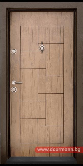 Блиндирана входна врата Т100 - Antik